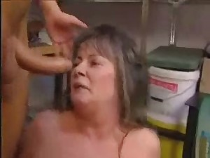 Aged Granny Anal Screwed With Facial Assign In Garage