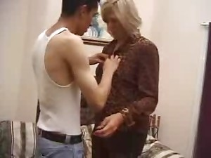 Sexually excited Aged Mama Drilled By Younger