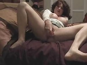 Older wife with vast wet crack mouth doing solo movie for hubby