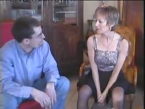 Hot French Older Acquires Screwed And Fisted