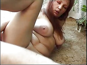 Marvelous milf and a youthful stud