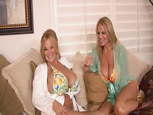 Hawt Huge-Titted Cougar Trio