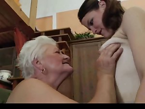 Granny Teaching Whence to be Homosexual woman 2