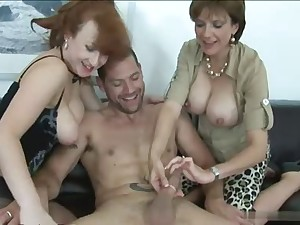 Collectivity Sex - 2 matures and 1 Man