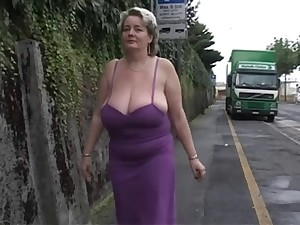 Solo #2 (Mature BBW with Huge Boobs)