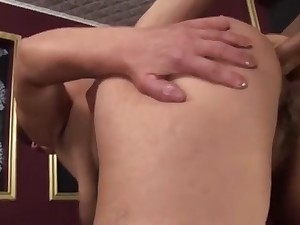 Previous bawdy female got her a-hole creampied