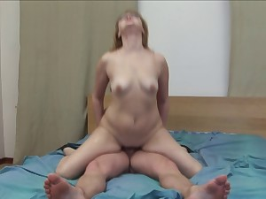 Aged Mary's anal creampie