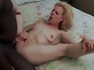 Hawt Blond Takes Darksome In The Booty