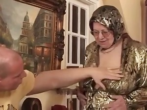 Grease Granny Receives Drilled