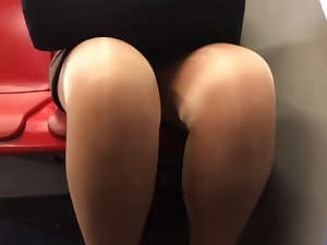 older upskirt legs tights in metro compound product 2