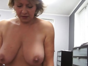 Czech aged POV 53yo oral-service fuck and cumming on huge marangos