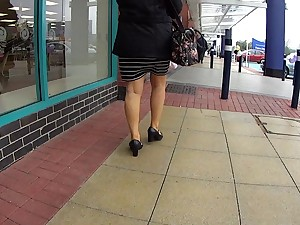 All red Milf Walking