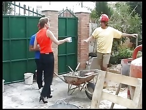 2 scheme workers fuck an english housewife