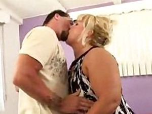 Blonde BBW Aged Can't live without Weenie
