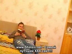Blonde sexy russian mommy