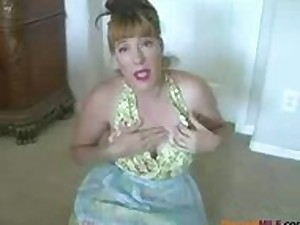 Grease Mommy Simulates Handjob