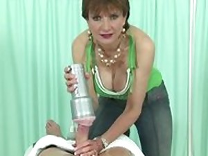 Older all red doxy receives a ejaculation