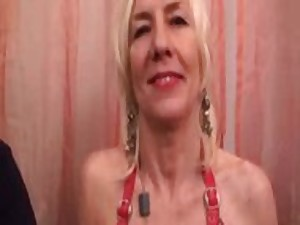 French older in fishnet pair screwed