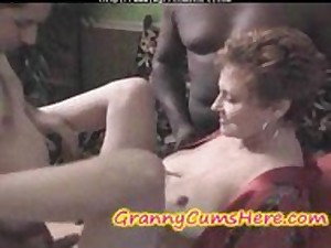 Older  Gang Group-fucked And Her Granddaughter Eats It Overseas aged aged porn granny preceding cumshots spunk flow