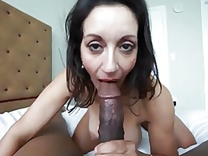 Astonishing Gilf Likes BBC!!!! (Super Sexy Gilf)