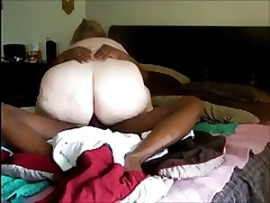 doxy wife calls hubby during the time that this babe accept a bbc (cuckold)