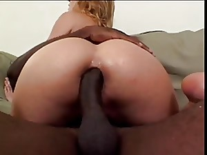 Blonde With Wide Pointer sisters Sucks And Copulates Wide Darksome Ramrod