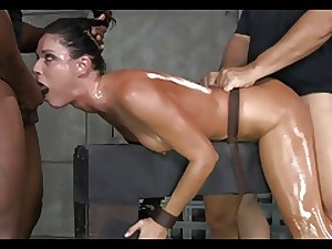 Magnificent Dark brown Milf Servitude Treatment