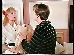 Youthful Nina Hartley doing anal for the premier hour