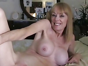 Milf Takes a Creampie from Juvenile Chap