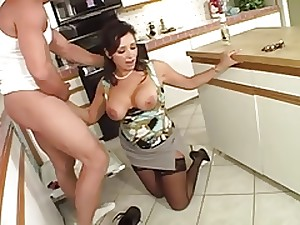 Nasty Housewife and Her Plumber...F70