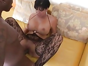 sexy milf with wide titts acquires drilled by wide dark weenie