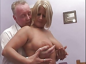 Blond MILF receives a valuable shagging