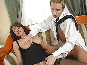 Magnificent Shaggy Older Squirts During the time that Fucking Juvenile Knob