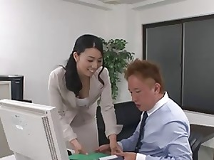 43yr aforegoing MILF Tuyako Yoshino acquires Creampied (Uncensored)