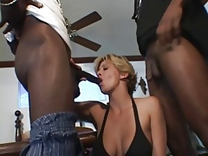 MILF Chloe Acquires Her BBC Longing by 2 BBC