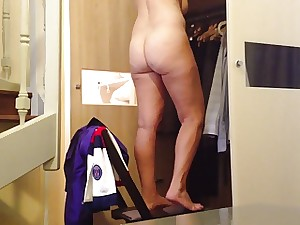 Wife Showing her A-hole on Hidden Webcam