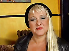 Older Bbw sabrina acquires dicked and facialized