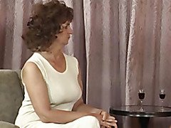 Grandmother Plays in Nylons 1