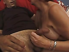Chunky unshaved mature doxy crammed by a Bbc
