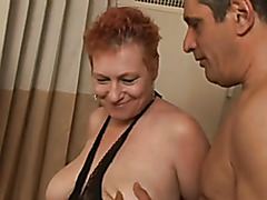 Thick Circumcised Carrot Granny Pounded