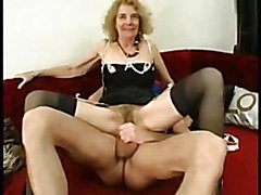 Granny Fancy's Herself A gangbang Slut