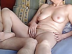 Coach Jill Masturbates in foreside of Her Student