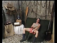 Shaggy older fucked, toyed and facialized