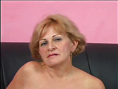 Busty granny gets screwed