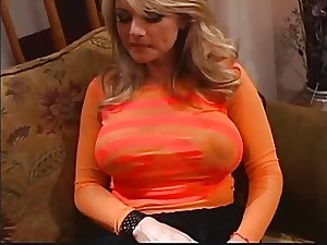 Important tit MILF in hawt anal act