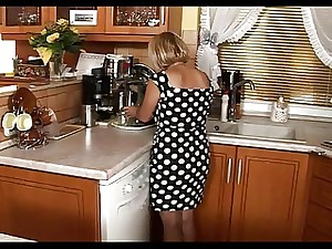 Small Older Feast Sex In The Cook-room
