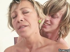 Very hawt aged lady drilled difficult
