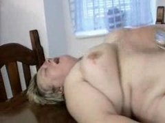 overweight german milf acquires drilled