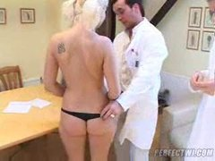 2 french physicians fuck a inexperienced russian twink