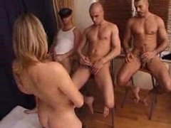 FRENCH Aged Feminine FUCK WITH 3 Teens